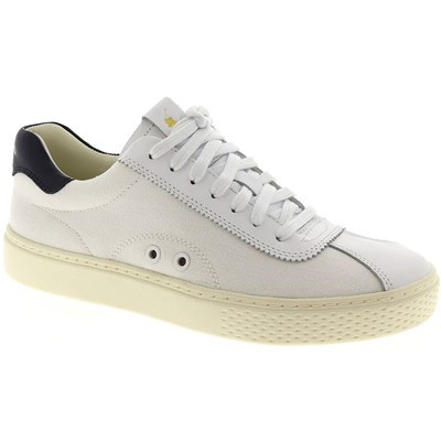 Ralph Lauren COURT 100 BASKETS BASSES BLANC