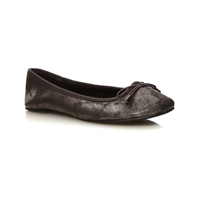 Moa ESSENTIELS BALLERINES ANTHRACITE