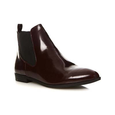 Moa AMISH BOTTINES BORDEAUX
