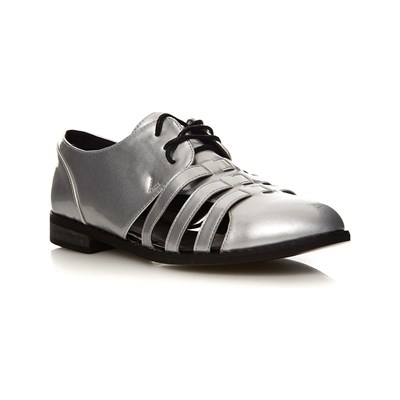 Moa NEW YORK DERBIES ARGENT Chaussure France_v182