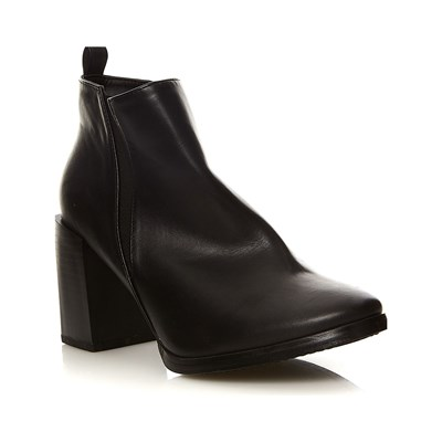 Moa BLACK AND WHITE ATTITUDE BOTTINES NOIR