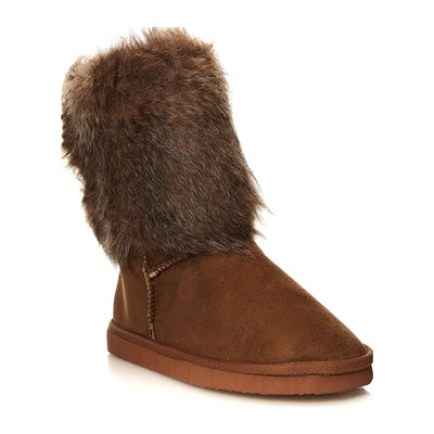 Moa ESSENTIELS BOOTS NEIGE CAMEL Chaussure France_v225