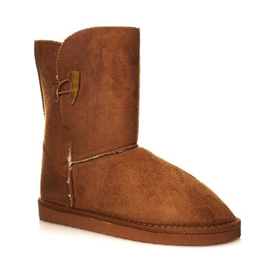 Moa ESSENTIELS BOTTINES CAMEL Chaussure France_v138