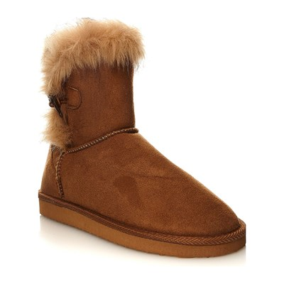 Moa ESSENTIELS BOOTS NEIGE CAMEL Chaussure France_v133