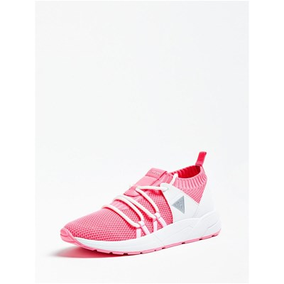 Chaussures Femme | Guess VELLER SNEAKERS FUCHSIA