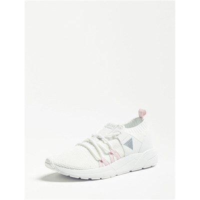 Chaussures Femme | Guess VELLER SNEAKERS BLANC