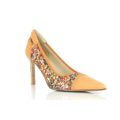 Elizabeth Stuart LACOR PUMPS ORANGE