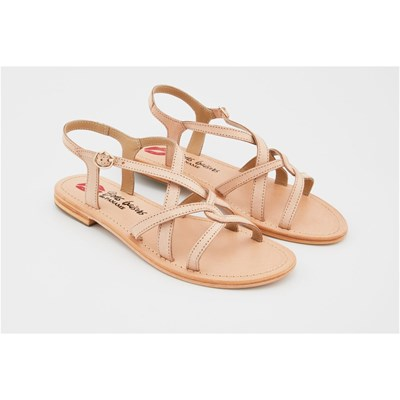 Bons Baisers de Paname SANDALES MYIA NUDE Chaussure France_v4471