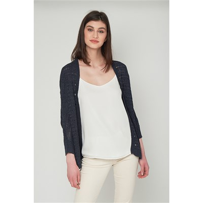 Best Mountain CARDIGAN BLU MARINE