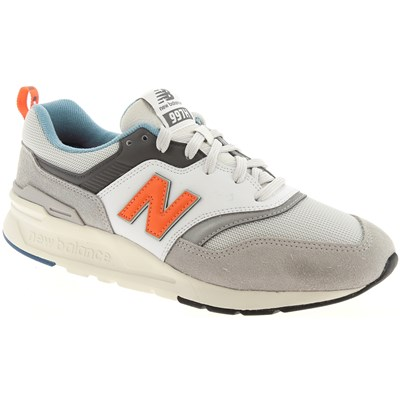 New Balance CM997 BASKETS BASSES BLANC Chaussure France_v10327