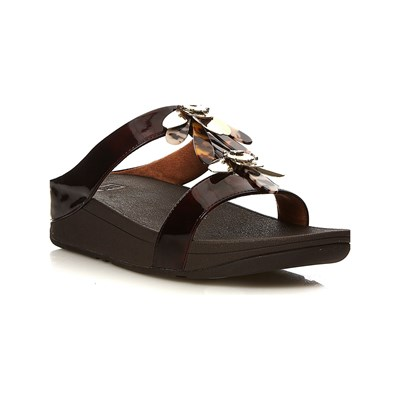 FitFlop FINO DRAGONFLY SANDALES CHOCOLAT Chaussure France_v15133