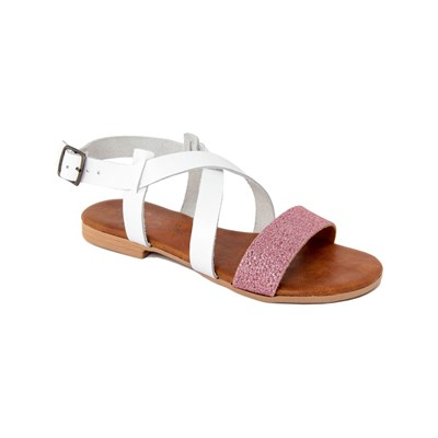 Miss Butterfly SANDALES EN CUIR BLANC Chaussure France_v2680