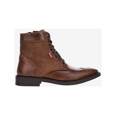 Levi's WHITFIELD BOOTS EN CUIR MARRON Chaussure France_v8046