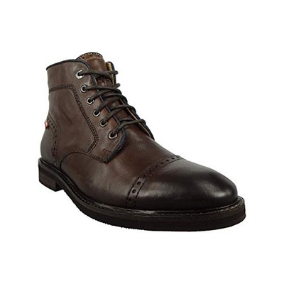 Levi's WOHLFORD BOOTS EN CUIR MARRON Chaussure France_v9570
