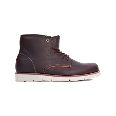 Levi's JAX HIGH BOOTS EN CUIR MARRON Chaussure France_v7855