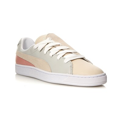 Puma BASKET CRUSH PARIS LOW SNEAKERS GRAU