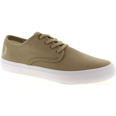 Fred Perry BASKETS BASSES BEIGE Chaussure France_v9665