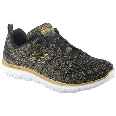Skechers FLEX APPEAL 20 CHAUSSURES DE RUNNING MARRON