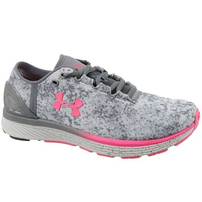 Under Armour UA W CHARGED BANDIT 3 DIGI CHAUSSURES DE RUNNING GRIS Chaussure France_v14959