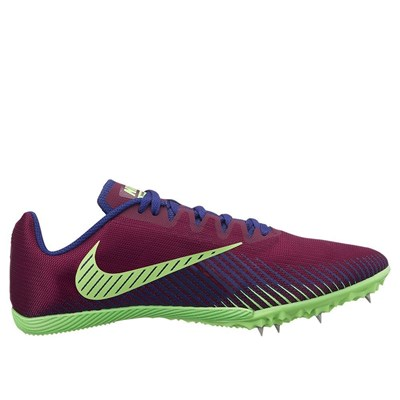 Nike ZOOM RIVAL CHAUSSURES DE RUNNING BORDEAUX