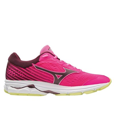 Mizuno WAVE RIDER 22 CHAUSSURES DE RUNNING ROSE Chaussure France_v17120