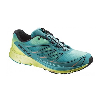 Salomon SENSE MANTRA 3 CHAUSSURES DE RUNNING TURQUOISE Chaussure France_v14254