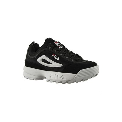 Fila 1010606 DISRUPTOR MESH LOW BASKETS BASSES NOIR Chaussure France_v8356