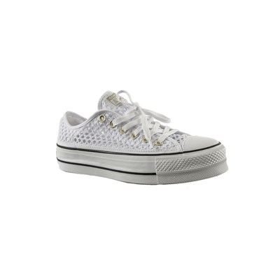 Converse 564873C CHUCK TAYLOR ALL STAR LIFT OX BASKETS BASSES BLANC Chaussure France_v12613
