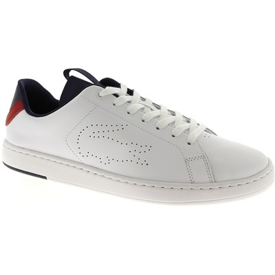 Lacoste CARNABY CARNABY EVO BASKETS BASSES BLANC Chaussure France_v9921
