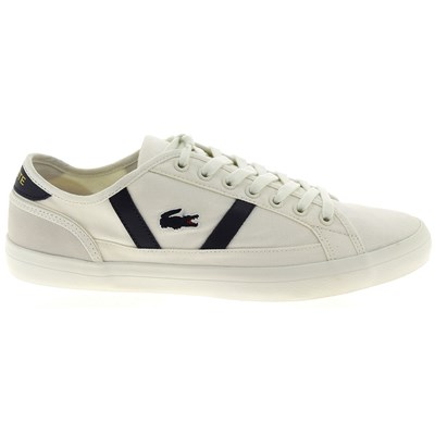 Chaussures Homme | Lacoste SIDELINE BASKETS BASSES BLANC