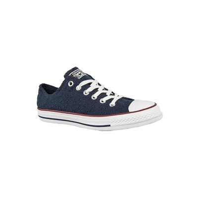 Converse 555979C CHUCK TAYLOR ALL STAR OX BASKETS BASSES BLEU