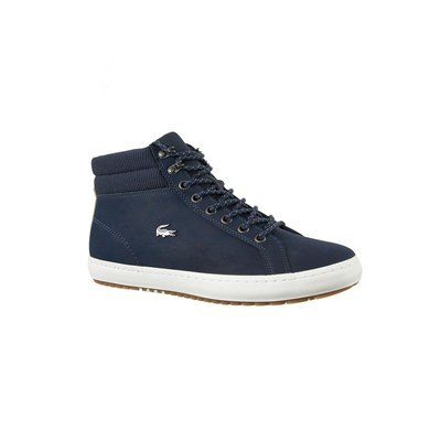 Lacoste STRAIGHTSET INSULAC BASKETS MONTANTES BLEU Chaussure France_v11100