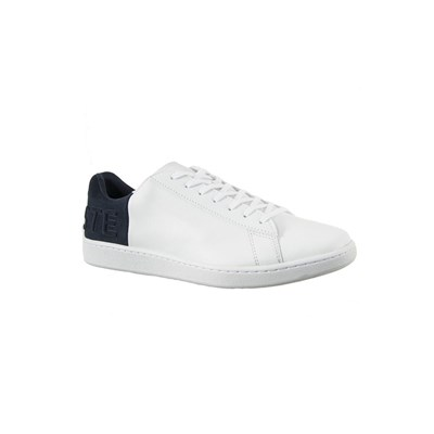 Lacoste CARNABY EVO BASKETS BASSES BLANC Chaussure France_v11015