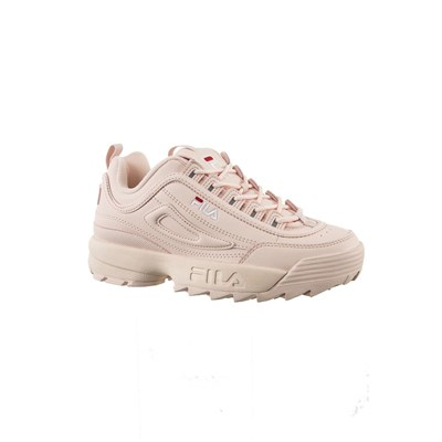 Fila 1010302 DISRUPTOR BASKETS BASSES ROSE Chaussure France_v15171