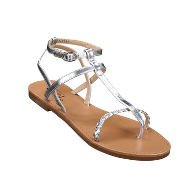 Chaussures Femme | C M 8839-246 TONGS GRIS