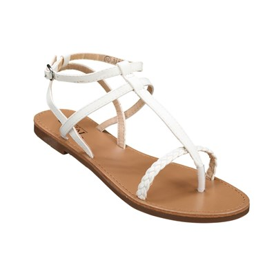 Chaussures Femme | C M 8839-246 TONGS BLANC