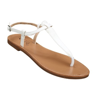 Chaussures Femme | C M 8839-230 TONGS BLANC
