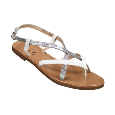 Chaussures Femme | C M 839-752 TONGS BLANC