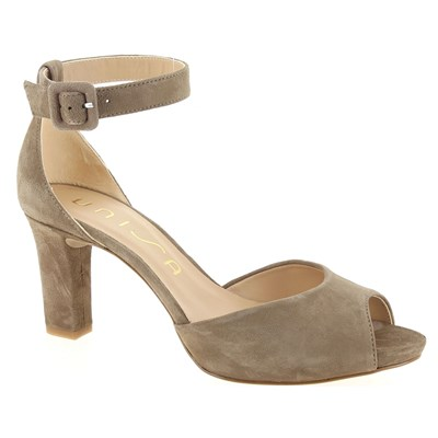 Unisa SANDALES TAUPE Chaussure France_v10957