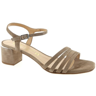 Unisa SANDALES TAUPE Chaussure France_v10956