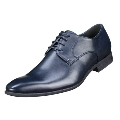 Uomo U558-38 DERBIES BLEU Chaussure France_v3508