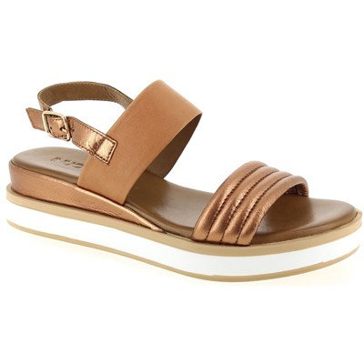 Chaussures Femme | Inuovo SANDALES CAMEL