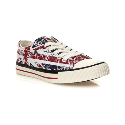 British Knights LOW SNEAKERS WEIß