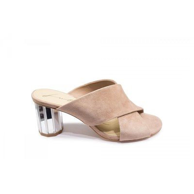 Lola Cruz MULES NUDE Chaussure France_v13402