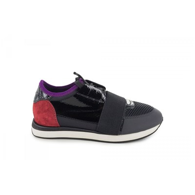 Lola Cruz BASKETS BASSES NOIR
