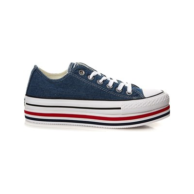 Converse CHUCK TAYLOR ALL STAR LIFT LOW SNEAKERS WEIß