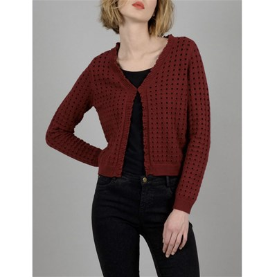 Molly Bracken CARDIGAN BORDEAUX