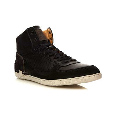 PLDM by Palladium DIXON SNEAKERS ALTE IN PELLE NERO