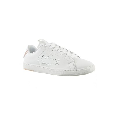 Lacoste CARNABY EVO BASKETS BASSES BLANC Chaussure France_v11014