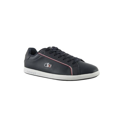 Lacoste GRADUATE BASKETS BASSES BLEU Chaussure France_v11016